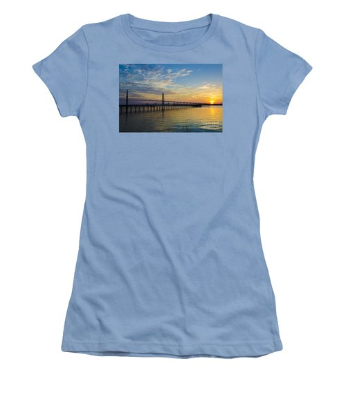 Women's T-Shirt (Junior Cut) featuring the photograph Magical Blue Skies by Dale Powell