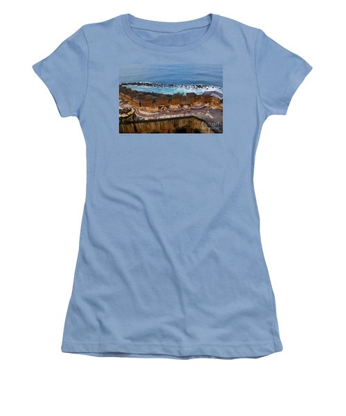 Women's T-Shirt (Junior Cut) featuring the photograph Castillo San Felipe Del Morro by Olga Hamilton