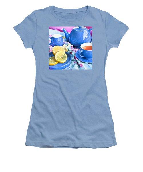 Do You Take Lemon? Women's T-Shirt (Junior Cut) by Theresa Tahara