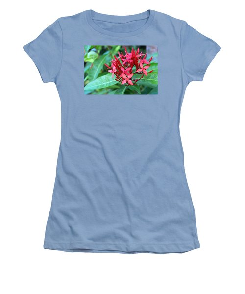 Jamaican Red Women's T-Shirt (Athletic Fit)