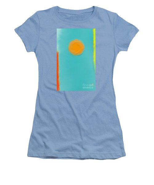 Lily Pond Women's T-Shirt (Junior Cut) by Anita Lewis