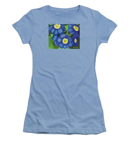 Prim And Proper Women's T-Shirt (Junior Cut) by Donna  Manaraze