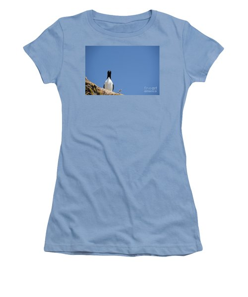 A Curious Bird Women's T-Shirt (Athletic Fit)