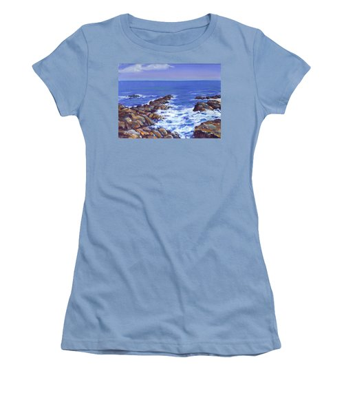 A Rocky Coast Women's T-Shirt (Athletic Fit)