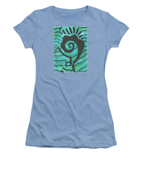 African Question Mark Women's T-Shirt (Athletic Fit)