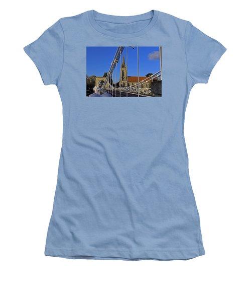 All Saints Church Women's T-Shirt (Junior Cut) by Tony Murtagh
