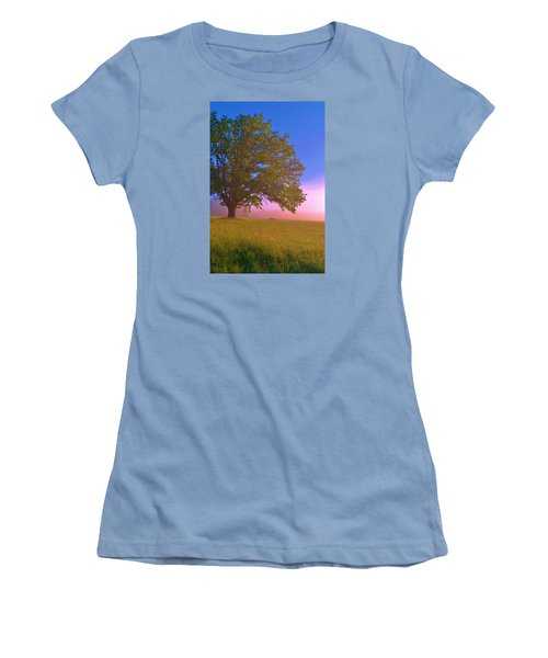 An All-american Sunrise Women's T-Shirt (Athletic Fit)
