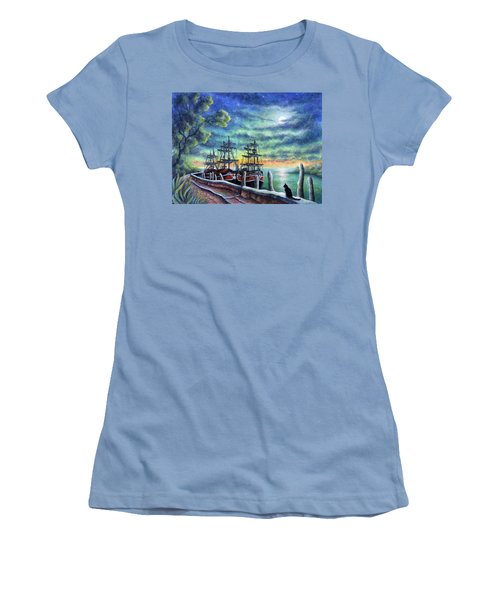 And We Shall Sail My Love And I Women's T-Shirt (Athletic Fit)
