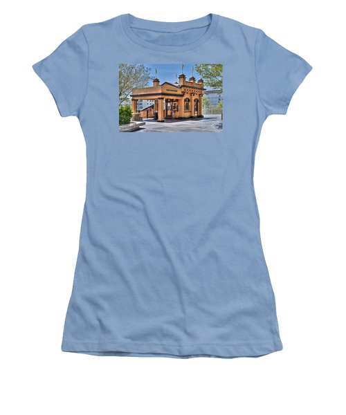 Angels Flight Landmark Funicular Railway Bunker Hill Women's T-Shirt (Athletic Fit)