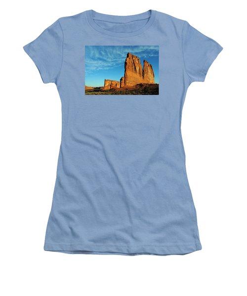 Women's T-Shirt (Junior Cut) featuring the photograph Arches National Park 47 by Jeff Brunton
