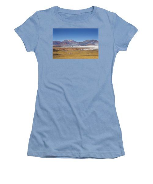 Atacama Hills Women's T-Shirt (Athletic Fit)