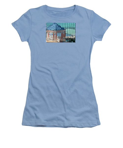 Bahamas Beach Pavilion Women's T-Shirt (Athletic Fit)