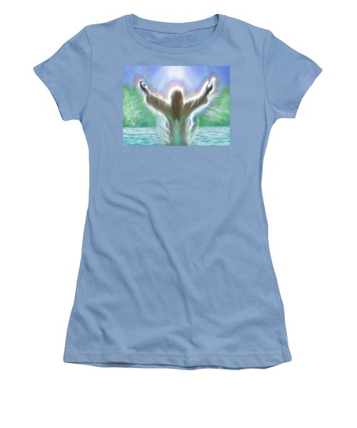 Baptism Of Yshuah Women's T-Shirt (Athletic Fit)