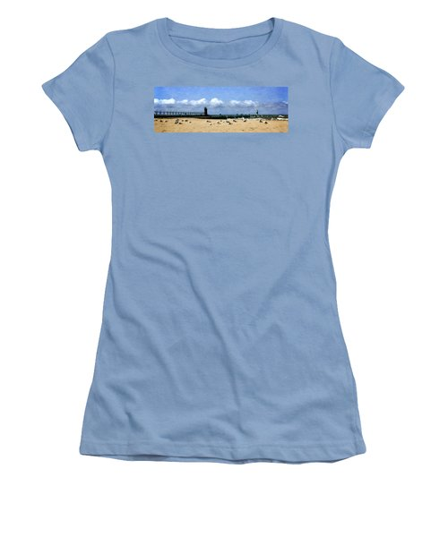 Beach At South Haven  Women's T-Shirt (Athletic Fit)