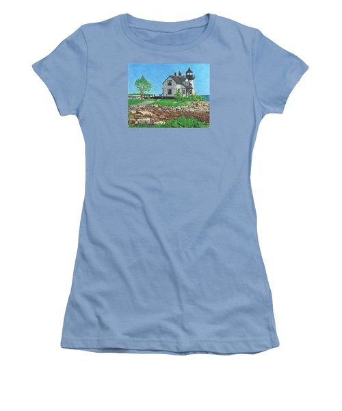 Women's T-Shirt (Junior Cut) featuring the drawing Beacon Of Hope by Troy Levesque