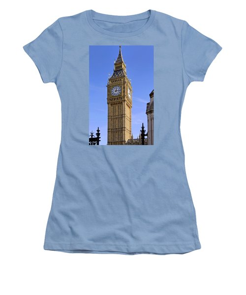 Women's T-Shirt (Junior Cut) featuring the photograph Big Ben by Stephen Anderson