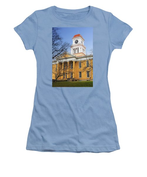 Blount County Courthouse Women's T-Shirt (Junior Cut) by Melinda Fawver