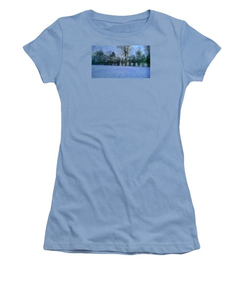 Blue Dawn Women's T-Shirt (Junior Cut) by RC deWinter