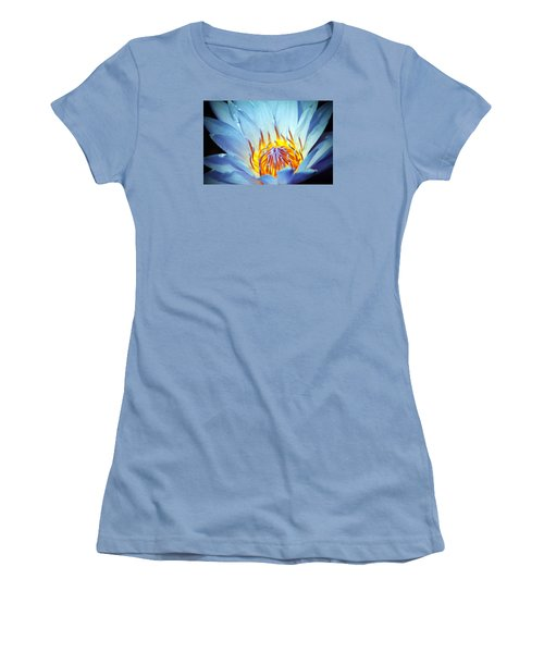 Blue Lotus Women's T-Shirt (Athletic Fit)