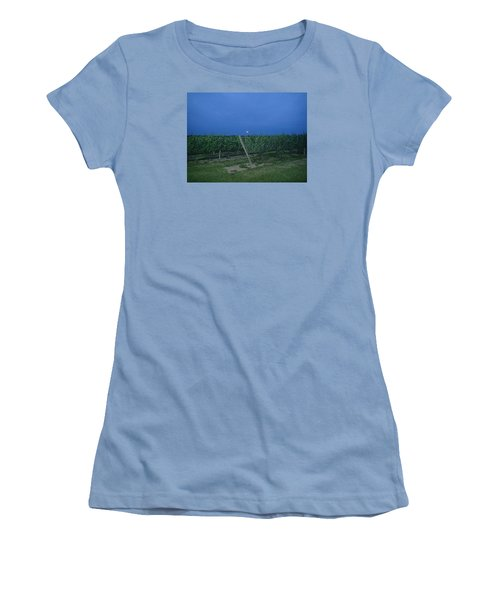 Blue Moon Women's T-Shirt (Junior Cut) by Robert Nickologianis