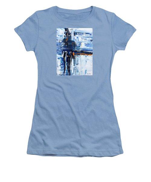 Blue Thunder Women's T-Shirt (Athletic Fit)