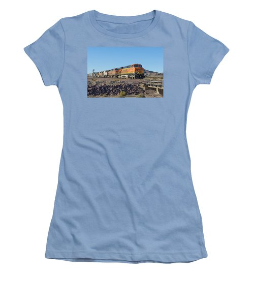 Bnsf 7649 Women's T-Shirt (Junior Cut) by Jim Thompson