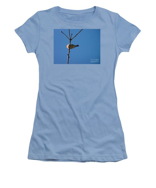 Women's T-Shirt (Junior Cut) featuring the photograph Bottoms Up by Meghan at FireBonnet Art