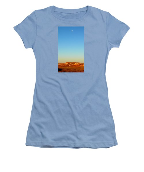 Women's T-Shirt (Junior Cut) featuring the photograph Breakaways by Evelyn Tambour