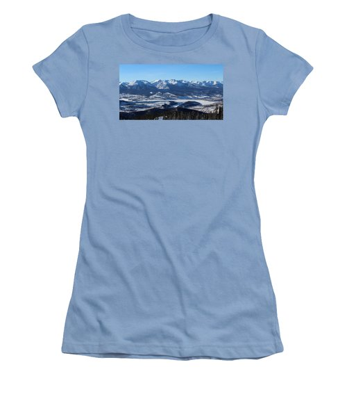 Breathtaking View Women's T-Shirt (Athletic Fit)