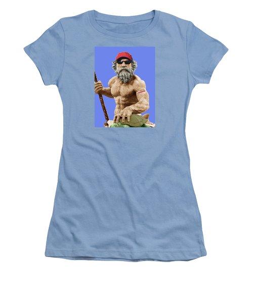 Bubba Neptune Women's T-Shirt (Junior Cut) by Mark Alder