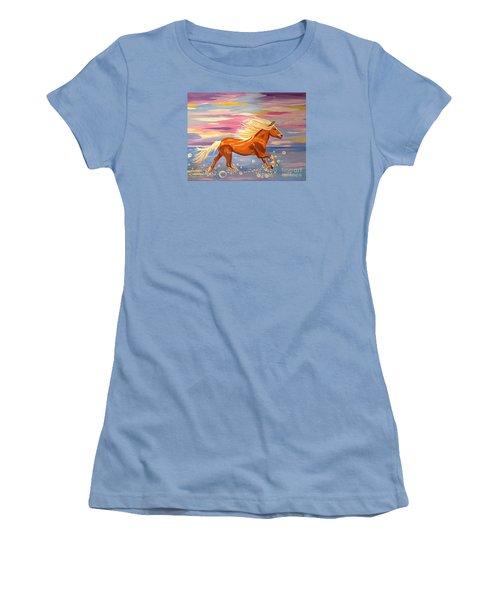 Bubble Run Women's T-Shirt (Athletic Fit)