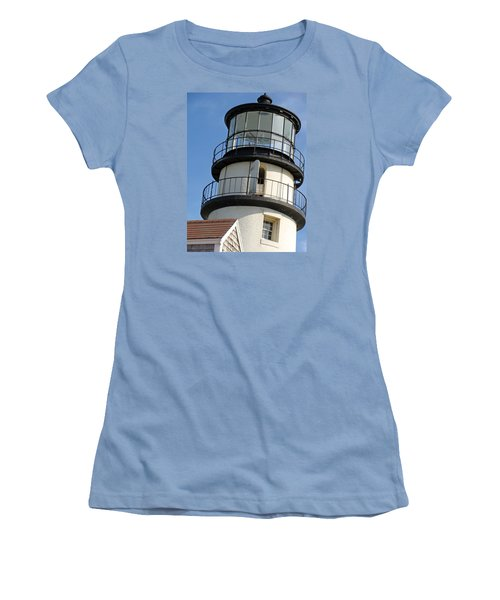 Women's T-Shirt (Junior Cut) featuring the photograph Cape Cod Lighthouse by Ira Shander