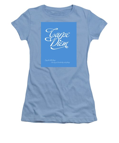 Carpe Diem Women's T-Shirt (Athletic Fit)
