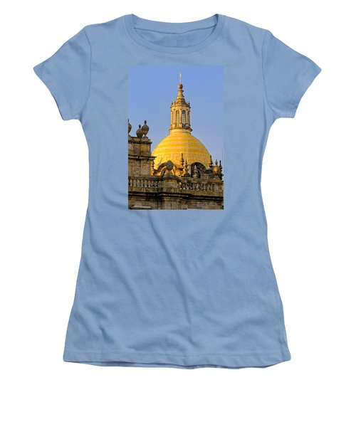 Catedral De Guadalajara Women's T-Shirt (Junior Cut) by David Perry Lawrence