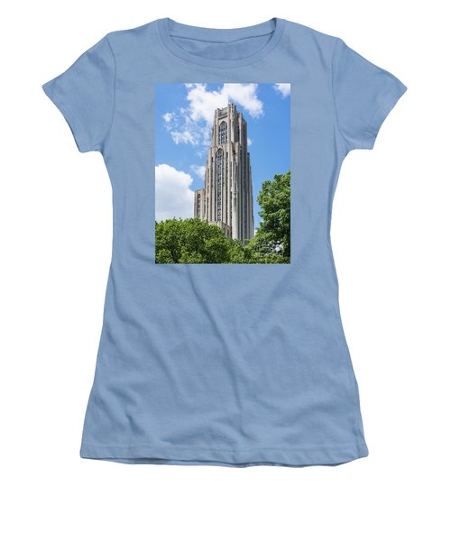 Cathedral Of Learning - Pittsburgh Pa Women's T-Shirt (Athletic Fit)