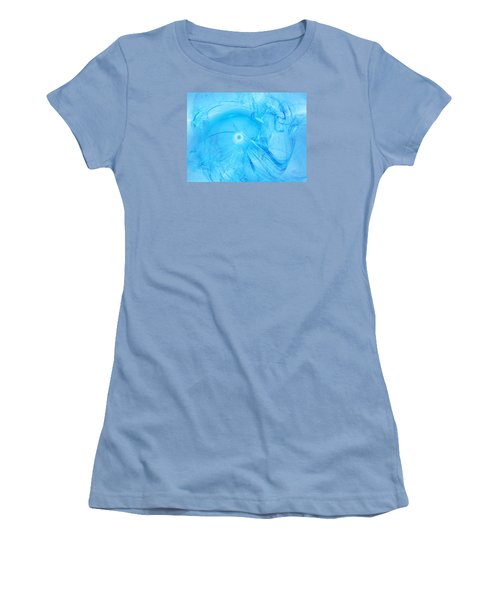 Celestial Intelligencer Women's T-Shirt (Junior Cut) by Jeff Iverson