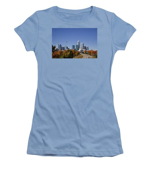 Charlotte North Carolina Women's T-Shirt (Athletic Fit)