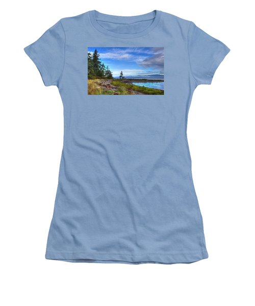 Clearing Skies Women's T-Shirt (Junior Cut) by Randy Hall