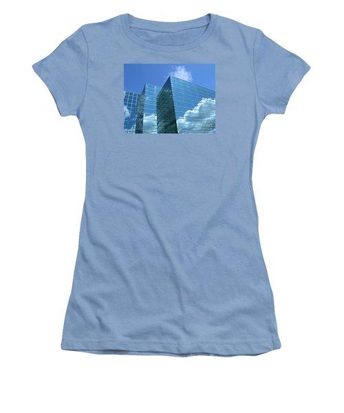 Cloud Mirror Women's T-Shirt (Junior Cut) by Ann Horn
