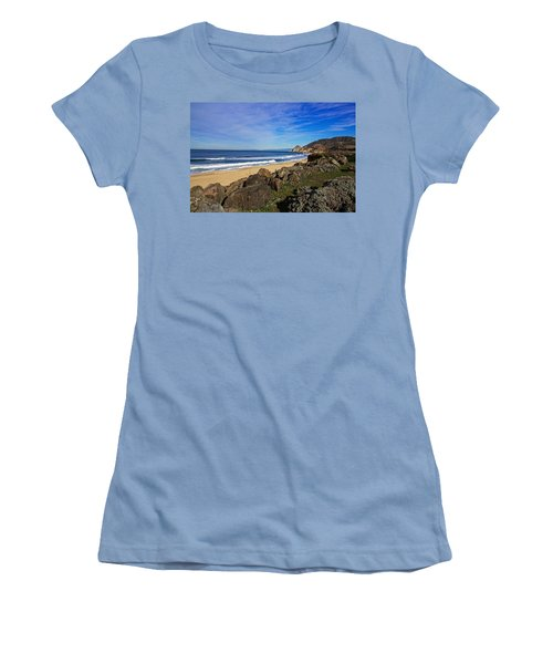 Women's T-Shirt (Junior Cut) featuring the photograph Coastal Beauty by Dave Files