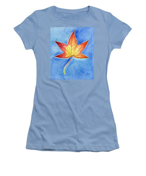 Cold Fall Sky Women's T-Shirt (Athletic Fit)