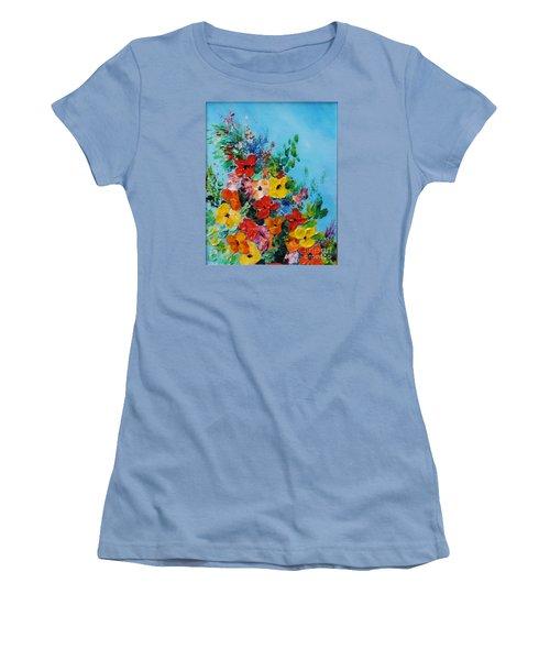 Colour Of Spring Women's T-Shirt (Junior Cut) by Teresa Wegrzyn