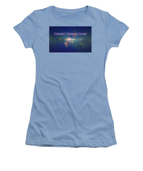 Women's T-Shirt (Junior Cut) featuring the photograph Cosmic Connections by Lanita Williams