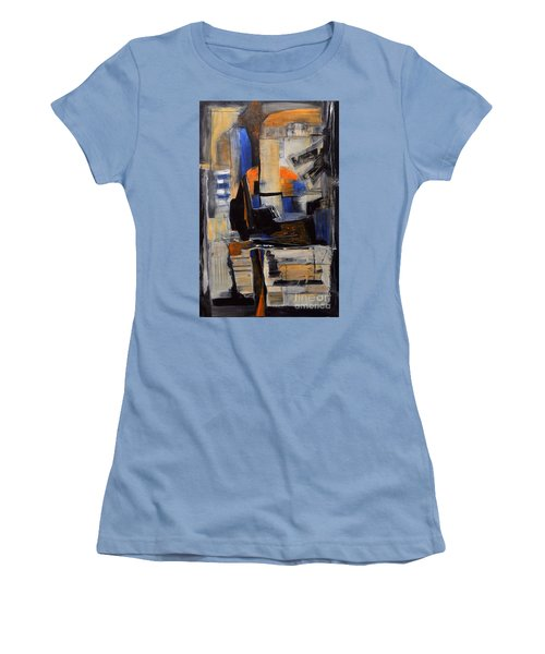 Crazy Legs Women's T-Shirt (Junior Cut) by Glory Wood