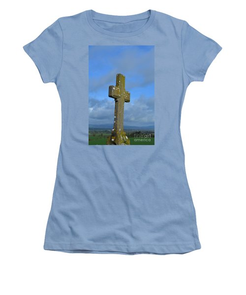 Cross At Cashel Women's T-Shirt (Athletic Fit)