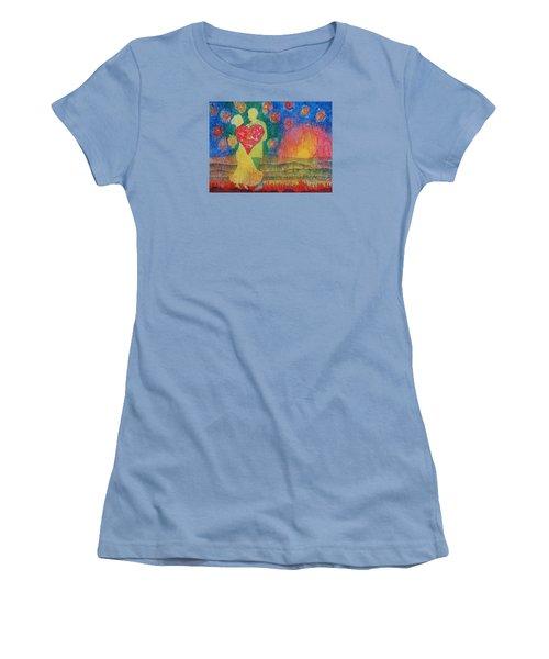 Danced Until Dawn Women's T-Shirt (Junior Cut) by Lynda Hoffman-Snodgrass