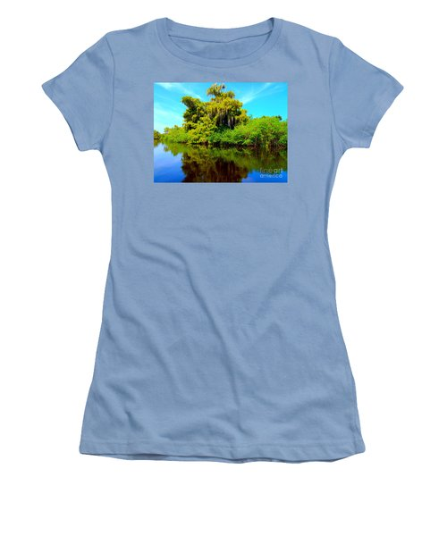 Dancing Willow Women's T-Shirt (Athletic Fit)
