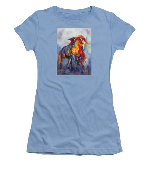 Desert Dance Women's T-Shirt (Athletic Fit)