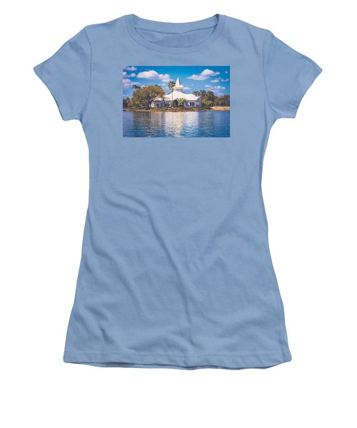 Disney's Wedding Pavilion Women's T-Shirt (Athletic Fit)