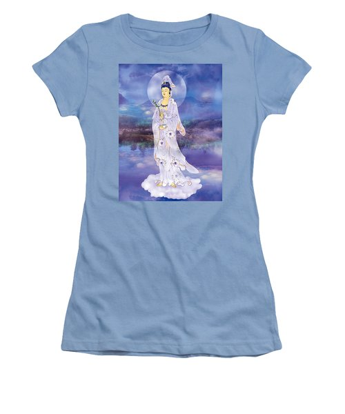 Women's T-Shirt (Junior Cut) featuring the photograph Doro Guanyin by Lanjee Chee